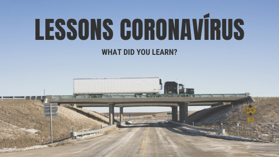 What lessons did the coronavirus leave for us?